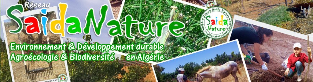 Réseau Saida Nature® Think Global, Act Local !