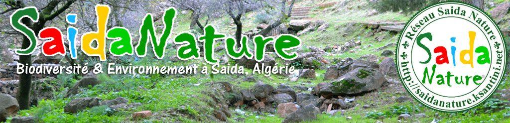 Réseau Saida Nature®, Agroécologie, Biodiversité & Environnement en Algérie.